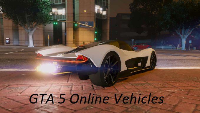 GTA 5 Online Vehicles