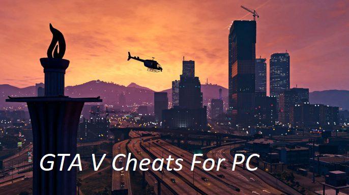 GTA V cheats for PC