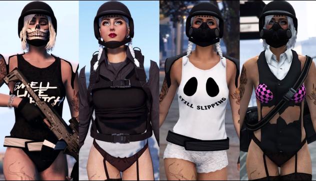 GTA 5 Outfits Female