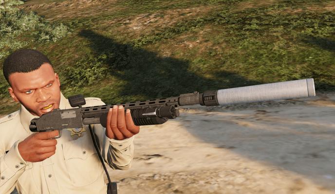 GTA 5 shotguns